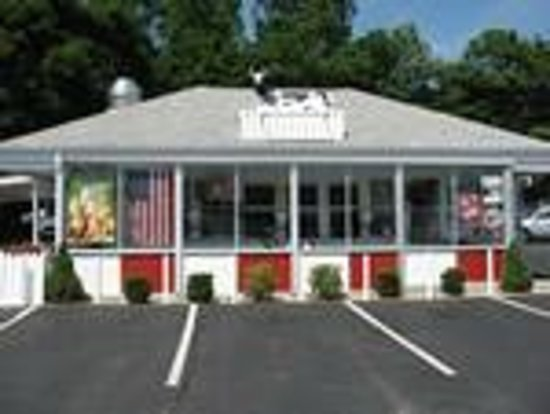 Frates Drive-In: Front of the building in 2010