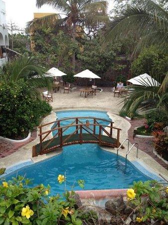 Hotel Silberstein: panoramica della piscina