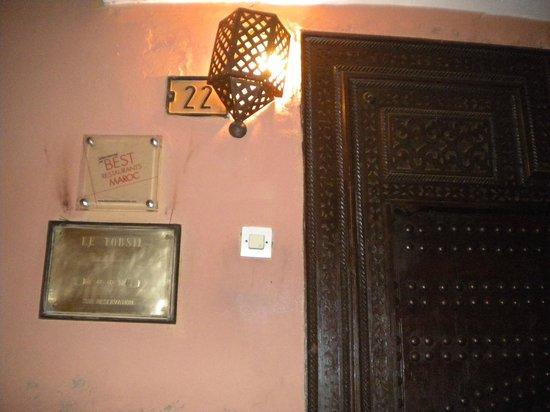 Maison Arabo Andalouse: ingresso