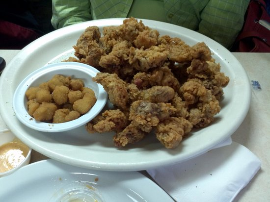 Dixie Grill & Steer Room: livers and gizzards