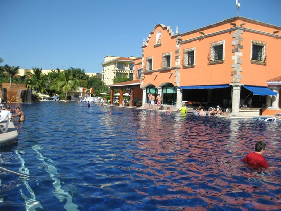 Gorgeous Pool Picture Of Hotel Marina El Cid Spa Beach Resort Puerto Morelos Tripadvisor