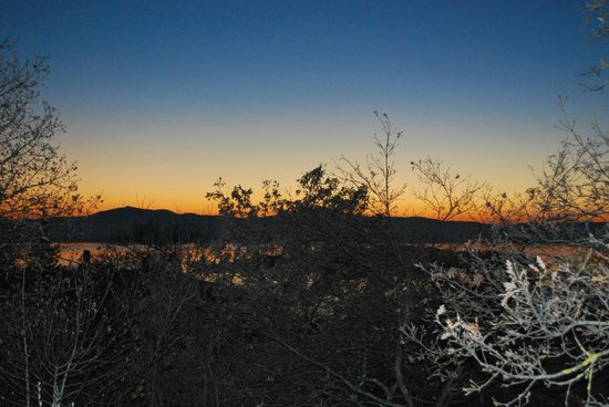 La Rocca Residence di Ragni Mauro: tramonto dal Residence La Rocca
