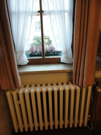 Gasthof Zum Breiterle: Window and radiator