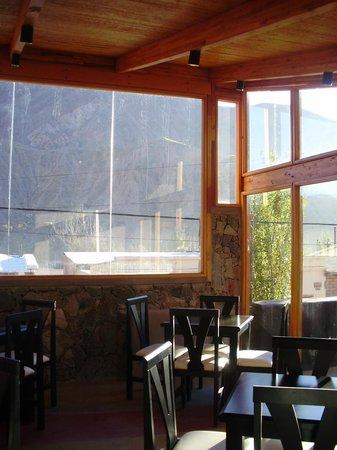 Don Faustino Hotel: Vista desde el comedor