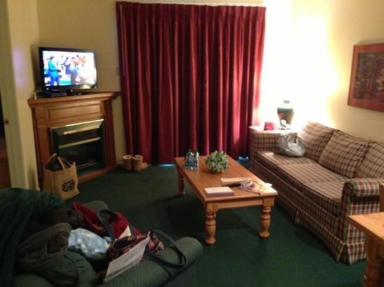 Hidden Valley Inn: living space