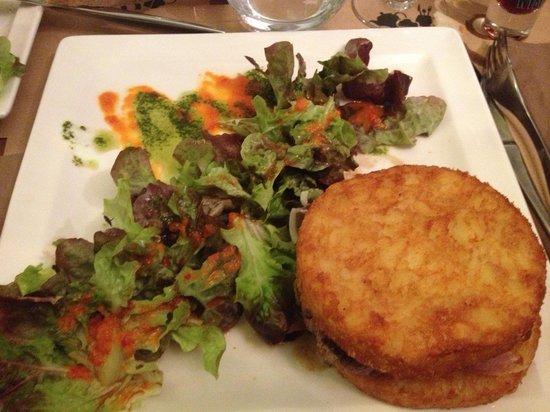 Suzette : Burger montagnard une valeur sûre