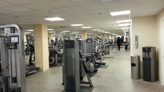 Westchester Marriott : Gym