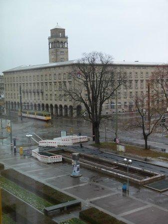 Novotel Karlsruhe: Vista dalle finestre della camera