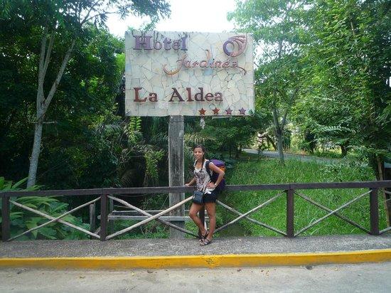 Hotel La Aldea del Halach Huinic: Entrée