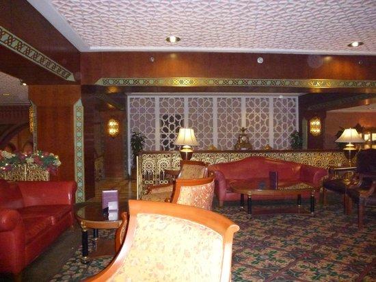 Cairo Marriott Hotel & Omar Khayyam Casino: Lobby