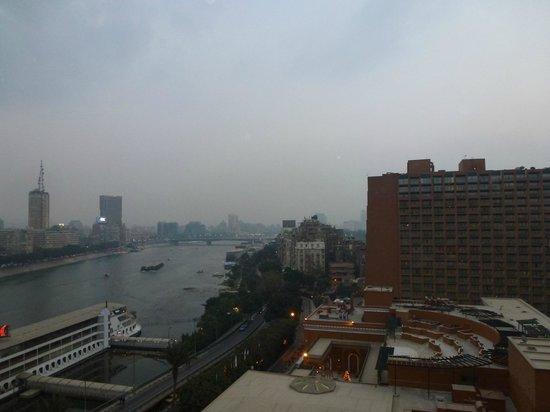 โรงแรมไคโรมาริออทแอนด์โอมาร์เคย์ยามคาสิโน: View from room