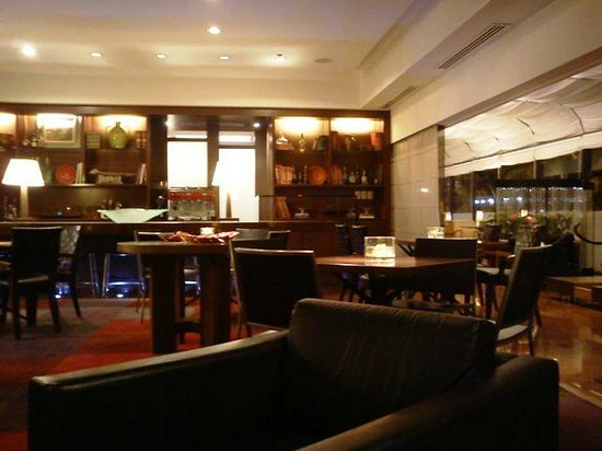 Sofitel Rio de Janeiro Ipanema: Lobby bar, finissimo