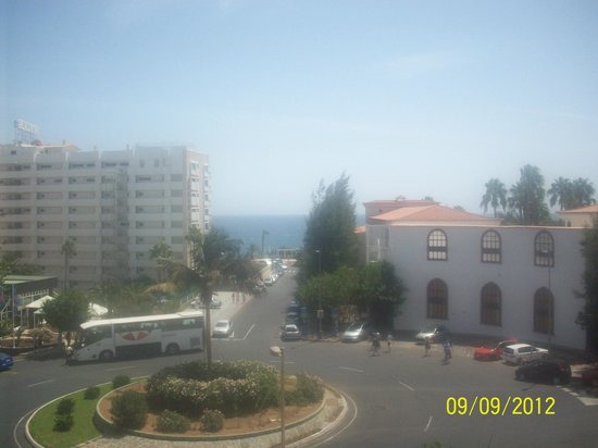 IFA Continental Hotel: View from the balcony