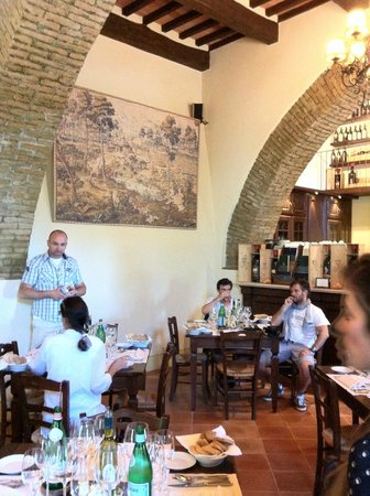 Castello Banfi - Il Borgo: lunch room