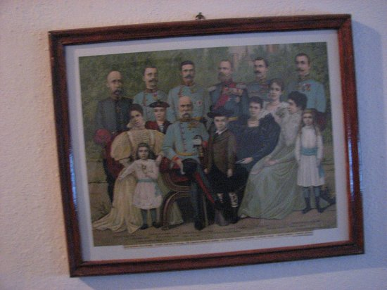 Pension Cartref: Old photo in the pension's first level lobby