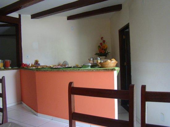 Hotel Ponta de Areia: café da manhã