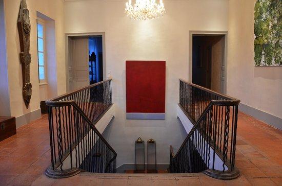 Château de Degrés : couloir