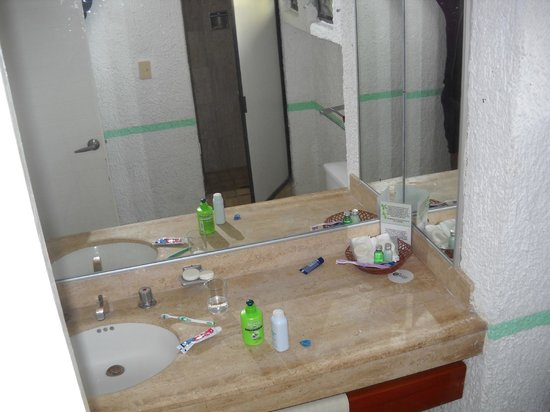 Cancun Clipper Club: AMPLIO BAÑO