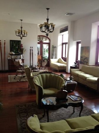 Casa Sucre Boutique Hotel: the main room