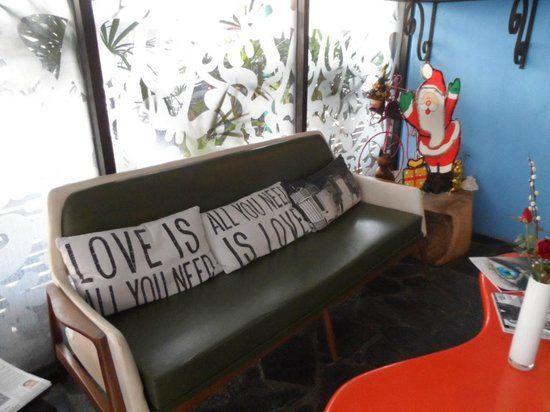Mystic Place: The reception area
