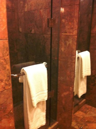 JW Marriott San Francisco Union Square: Separate shower