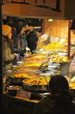 Camden Market: Foods