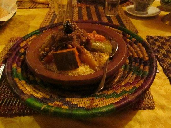 Beldy Restaurant: couscous