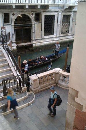 Hotel al Ponte dei Sospiri: View from our room