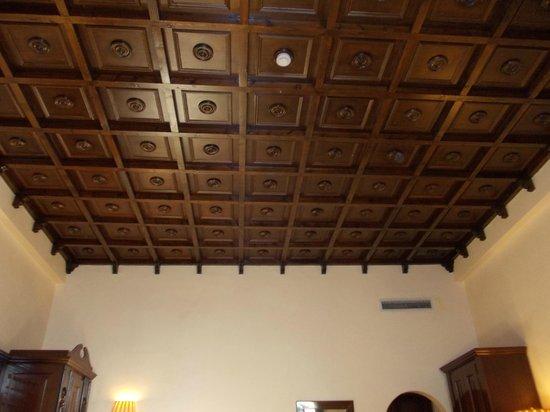 Grand Hotel Baglioni Firenze: soffitto capera 207