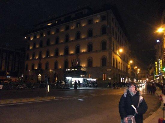 Grand Hotel Baglioni Firenze: frontale