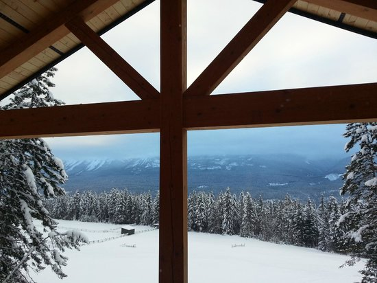 Mount 7 Lodges: View from bedroom