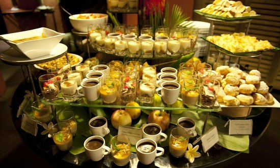 Tamarina Golf & Spa Boutique Hotel: Dessertbuffet..lecker
