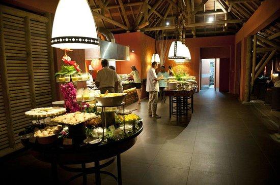 โรงแรม แทมารีนา: Restaurant, hier gibt es auch das Frühstück