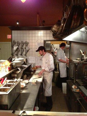 David's 388: Chef Carlos at work
