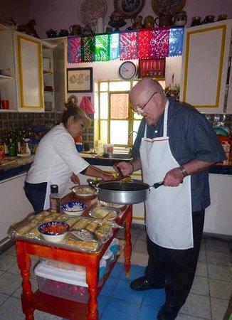 Casa de Las Flores: Christmas breakfast!