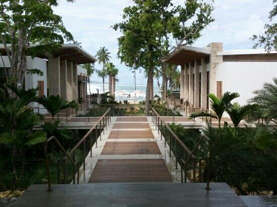 Dorado Beach, a Ritz-Carlton Reserve: view from the reception