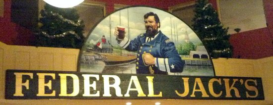 Federal Jacks Restaurant and Brewpub: FEDERAL JACKS