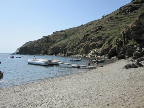 Cala Joncols: Am Strand