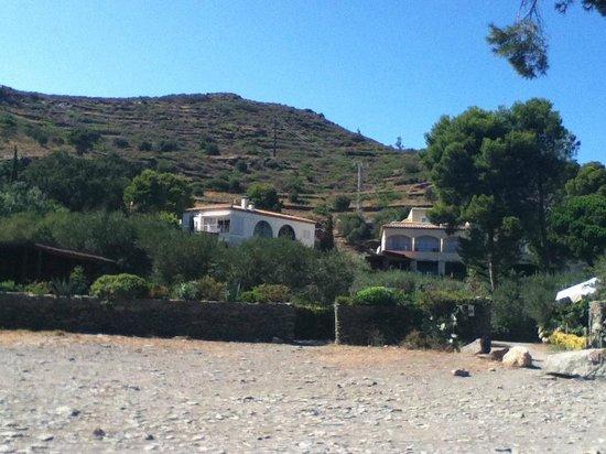 Cala Joncols: Das Hotel von außen