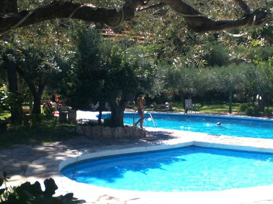 Cala Joncols: Im Poolbereich