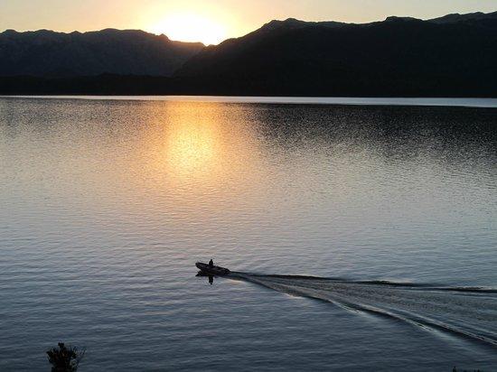 Luma Casa de Montana : Puesta de sol