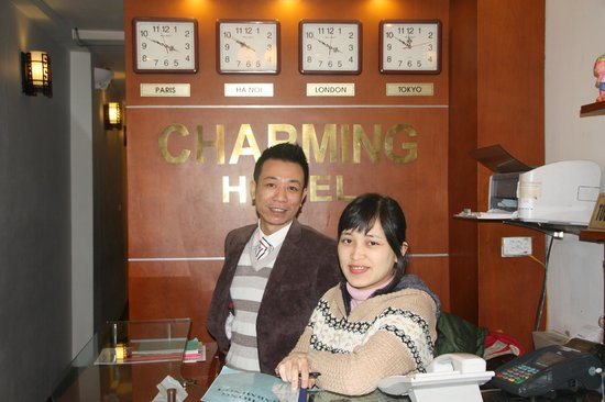 Hanoi Charming Hotel: Mr Duc & Hong