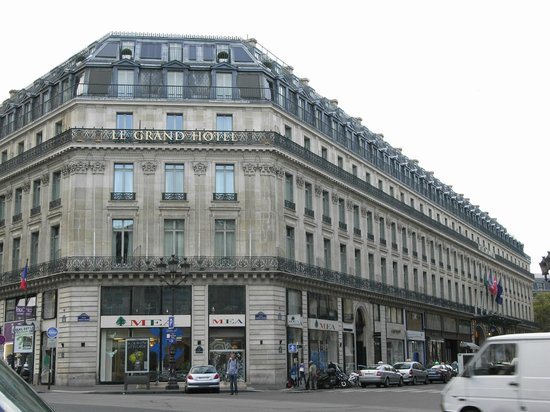 InterContinental Paris Le Grand: Hotel exterior