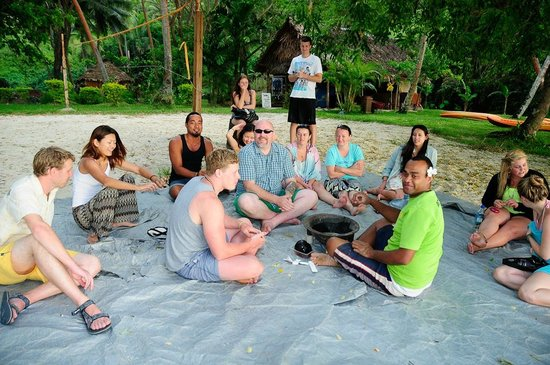 Mango Bay Resort: Kava ceremony
