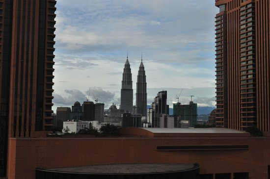 Furama Bukit Bintang: Twin towers from my window