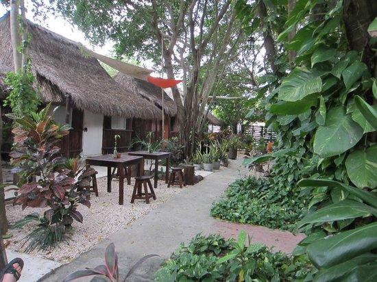 Secret Garden Hotel: Secret Garden community area