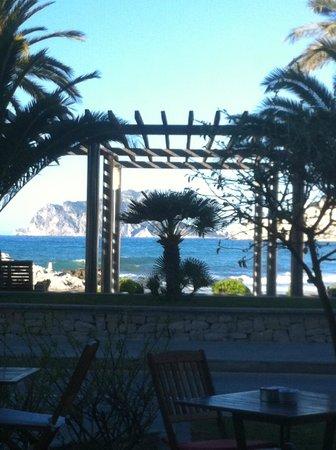 Boutique Hotel LaSort: vue sur la terrasse