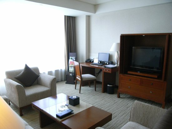 Shenzhenair International Hotel: Suite - Living room
