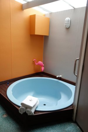 RotoVegas Motel of Rotorua: Great In Room Spa Pool!