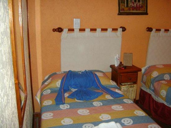 Fuerte Calafate: Hasta acomodaban mi pijama